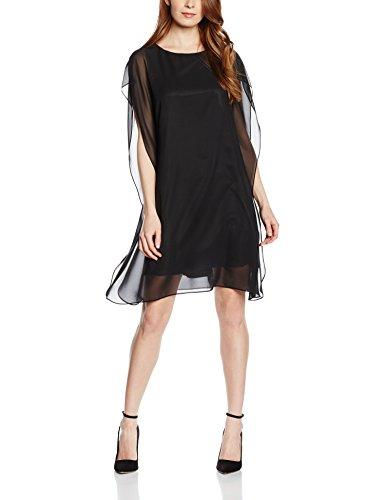 Swing 771106-10-vestito donna nero (black 100) 46