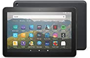 "Fire HD 8 Tablet, 8"" HD display, 32 GB, Black - with Ads, designed for portable entertai"