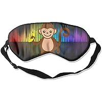 Cartoon-rhesus-monkey-banana-pattern 99% Eyeshade Blinders Sleeping Eye Patch Eye Mask Blindfold For Travel Insomnia... preisvergleich bei billige-tabletten.eu