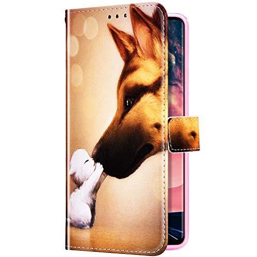 Uposao Cover Compatibile con Samsung Galaxy J4 Plus 2018 Custodia a Portafoglio a Fessura per Carta...