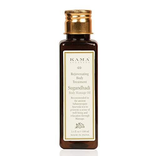 Body Toning Oil (KAMA AYURVEDA SUGANDHADI rejuvenating body treatment oil - 100 ml)