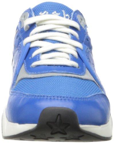 Ash Hendrix Ter Damen Leder Tennisschuh Royal/Royal/Silver
