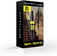Maybelline New York Colossal Go Extreme Leather Black Mascara and Kajal Argan Oil
