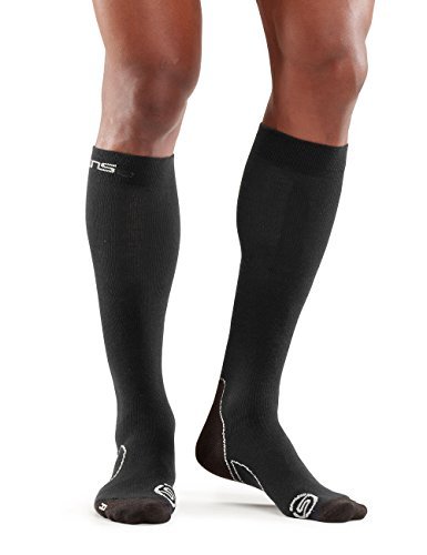Skins Herren Essentials Comp Socks Recovery, Black, M, ES00019349001 (Gradient Socken Compression)