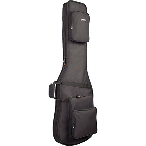 Protec Deluxe Tasche für Bassgitarre, schwarz