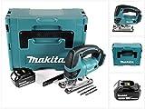 Makita djv 180t1j 18V Batterie Scie sauteuse pendulaire Coffret Makpac + 1x 5,0Ah Batterie-Sans Chargeur