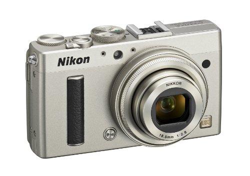 Nikon Coolpix A Digitalkamera (16 Megapixel, 7,6 cm (3 Zoll) LCD-Display, 28mm Weitwinkelobjektiv, Lichtstärke 1:2,8, Full HD Video) titan silber - 4