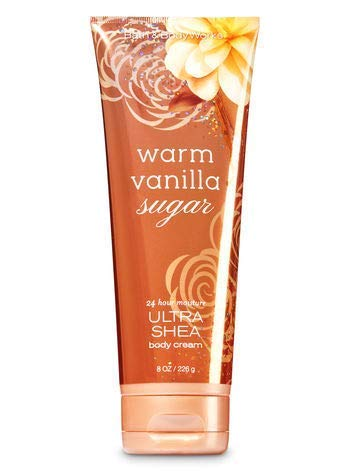 Bath & Body Works - Warm Vanilla Sugar 24 Hr Moisture Ultra Shea Body Cream (Körpercreme) 226g (Vanillas Works Body And Bath)