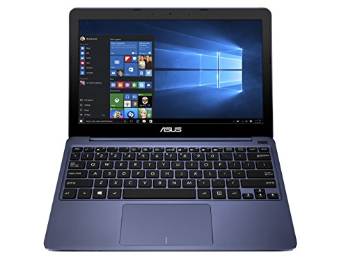 "ASUS VIVO BOOK X206HA 11.6"" ATOM QUAD-CORE 1.44GHz RAM 4GB-eMMC 32GB-WIN 10 HOME ITALIA BLU (90NL0072-M05290)"