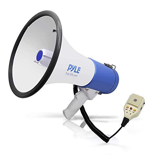 Pyle Megafon Profi aufladbare Sprech Modus und Aux-Eingang für MP3-Spieler 50 Watt, PMP59IR