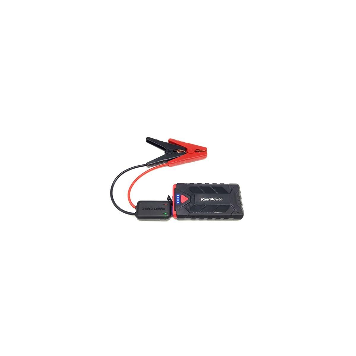 41diG82G0DL. SS1200  - Portátil 500A Emergency Starting Device 8600mAh Baterías Cargador Car Jump Starter Booster Banco de potencia para 12V Petrol Auto