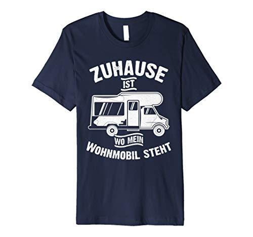 Zuhause ist wo mein Wohnmobil steht - Caravan Camper T-Shirt