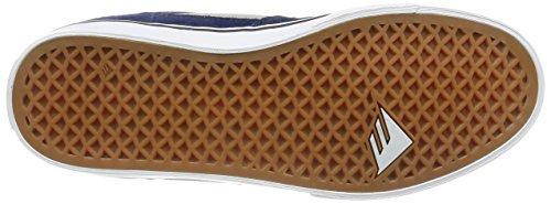 Emerica the Hsu Low Vulc, Scarpe da Skateboard Uomo, Nero Navy/Grey