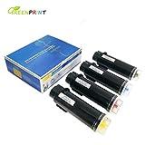 4 Farben Kompatible Tonerkartuschen Xerox Phaser 6510 6510V/N 6510V/DN 6510V/DNI, WorkCentre 6515 6515V/N 6515V/DN 6515V/DNI GREENPRINT Die Höchste Ausbeute 5500 Seiten für BK & 4300 Seiten für C M Y