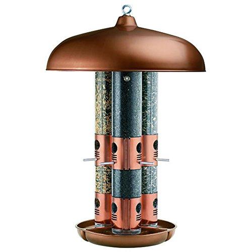 Alimentador de pájaro salvaje Triple Tubo perky Pet 7103-2  Cooper