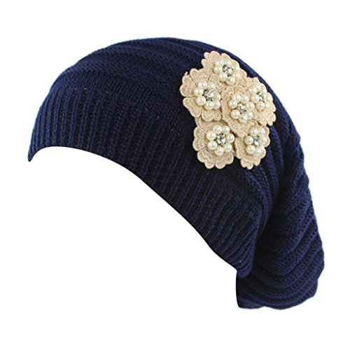Cappello da Donna Lavorato a maglia da Donna,Yanhoo Cappellino per Berretto  con Cappuccio Avvolgente