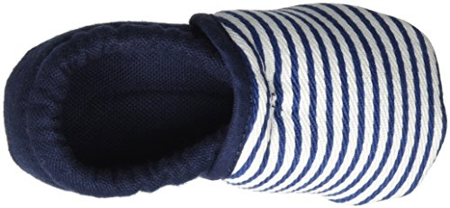 Nanga - Streifchen, Scarpine e pantofole primi passi Bimbo 0-24 blu (dunkelblau)