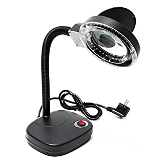 AOYUE 929 LED Lupenleuchte mit 15x Zoom