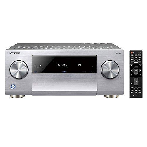 Pioneer SC-LX 501-B Class D Netzwerk AV Receiver (270W pro Kanal, WiFi und Bluetooth, Dolby Atmos, DTS X Ready, HDCP 2.2, AppControl) schwarz (Class-d Av-receiver)