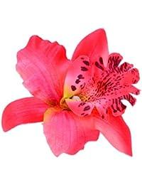 Joyería Joyas para Pelo Clip de Pelo Broche Flor Leopard Decoración Nupcial