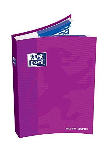 Oxford School agenda escolar 2016–2017(1día por página 352páginas 15x 21cm, color rosa 15 x 21