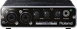 Roland UA-22 Duo Capture-Ex Interface audio numérique 2 canaux