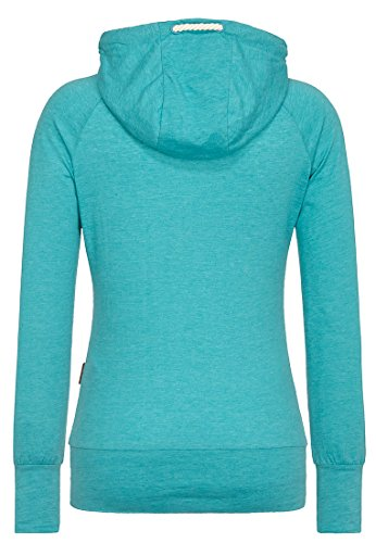 Naketano Female Hoody Mandy Fresh Blue Melange, XL - 2