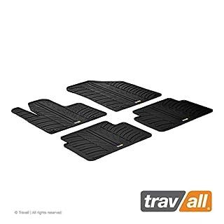 Travall Mats Gummifußmatten TRM1045 – Allwettermatten nach Maß Fussmatten Set