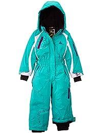 Peak Mountain FELDI/3–8/NH de esquí para niña, niña, color Verde - verde, tamaño FR : 8 ans (Taille Fabricant : 8)