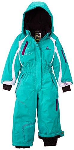 Peak Mountain Feldi/3-8/nh Mädchen Skianzug 8 Jahre grün - grün