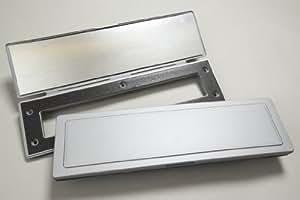 magflap briefkasten zugluftstopper magnetisch silberfarben baumarkt. Black Bedroom Furniture Sets. Home Design Ideas