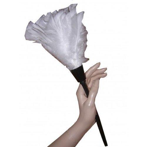 Staubwedel aus Kunstfedern das perfekte Kostüm Accessoires Zimmermädchen Dienstmädchen French (Kostüme Accessoires Maid)