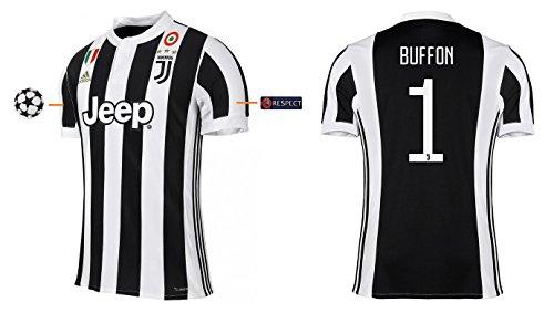 Trikot Herren Juventus 2017-2018 Home UCL - Buffon 1 (L)