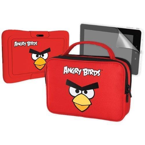 KURIO MERONCOURT Angry Birds Schutz Haut Bumper Accessory Pack für 7S–Rot
