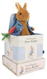 Beatrix Potter 160mm Square Jack in a Box