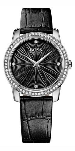 Hugo Boss Damen-Armbanduhr Analog Quarz Leder 1502352