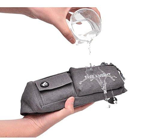 Glield Elastische Bauchtasche Wasserdicht BagBase Gürteltasche WB01 Lila