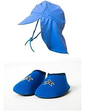 Con mangas para bebé Art de los pies foulard diseño de zapatos con texto y a los ultravioleta y diseño de los...