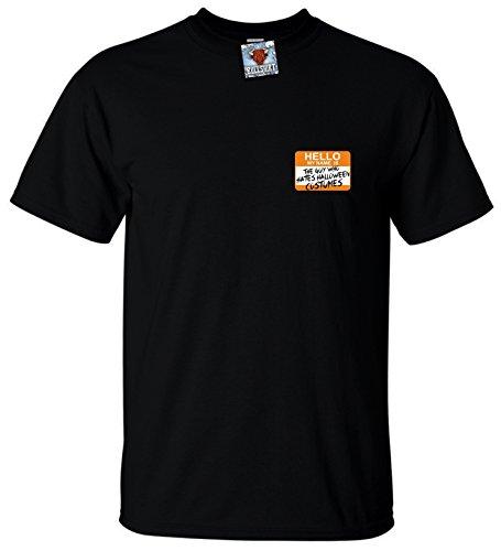 n Hates Halloween T-Shirt (Schwarz, Mittel) (Halloween Bonfire Ideen)