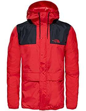 North Face M Mountain 1985 Seasonal Celebration Chaqueta, Hombre, Rojo (Tnf Red / Tnf Blk), S