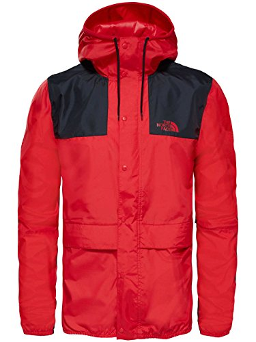 The North Face Herren 1985 Mountain Jacket Seasonal Celebration Jacke tnf red/tnf black