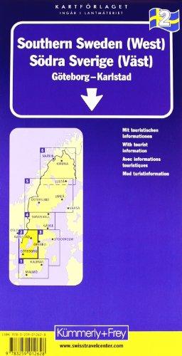 Kümmerly & Frey Karten, Süd-Schweden (West) (Kümmerly+Frey Reisekarten): Alle Infos bei Amazon