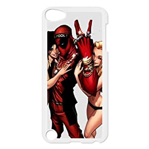 Beautiful memory-customize Hard Shell Plastic Case iPod Touch 5th Back Cover Case coque-deadpool