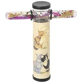 Caleidoscopio Liquido a Scorrimento Automatico in Fiala 15 cm. Farfalle