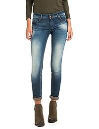 Salsa - Jeans Push Up Wonder jambe slim, délavage premium - Femme