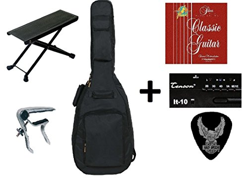 zound-house-all-access-3-4-classical-guitar-accessory-pack-consisting-of-guitar-bag-with-guitar-stra
