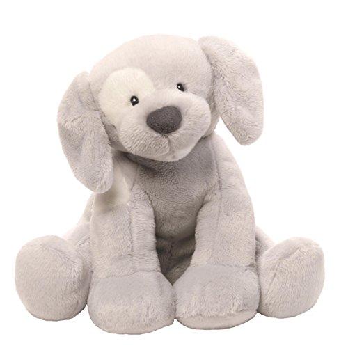 Gund 4059065Spunky perro Keywind gris suave juguete