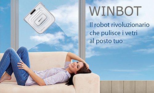 Imetec Winbot W710Kit Kabel Verlängerungskabel für Roboter für Fenster und Glasscheiben -