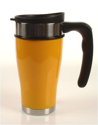 Planetary Design-Travel Mug-Tazza termica/Tazza termica in acciaio inox-12oz/0,35l arancione