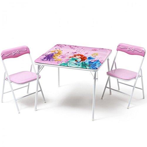 Disney Princess Kindersitzgruppe Sitzgruppe Klapptisch Klappstuhl KIndermöbel Tisch + 2 Stühle NEU